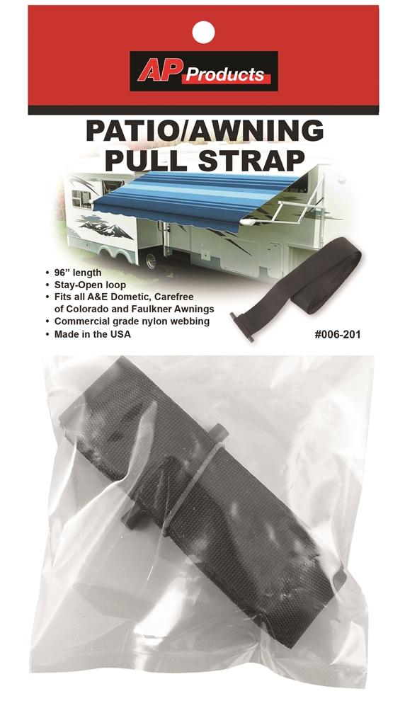 Nippon Labs VT-EG015B6 6-Piece Reusable 19-Feet x 1-Inch Awning Strap Set