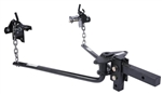 Husky Towing 31422 Round Bar Weight Distribution Hitch - 8,000 lbs