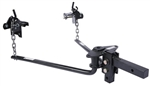 Husky Towing 31425 Round Bar Weight Distribution Hitch - 14,000 lbs