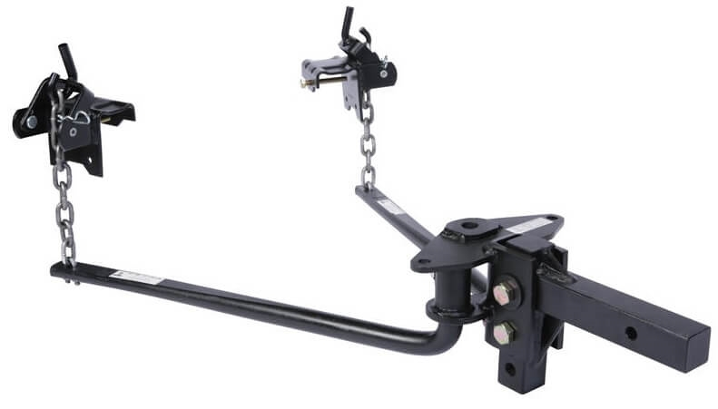 Husky 31997 800LB Weight Distribution Hitch with Sway Control and 2.32 Ball
