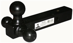 Husky Towing 31349 Class III/IV Trailer Hitch Adjustable Triple Ball Mount