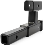 EaZ Lift Dual Trailer Hitch Extension - Black