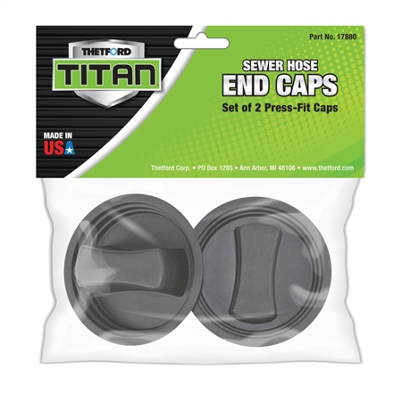 Thetford 2 Titan Sewer Hose End Caps