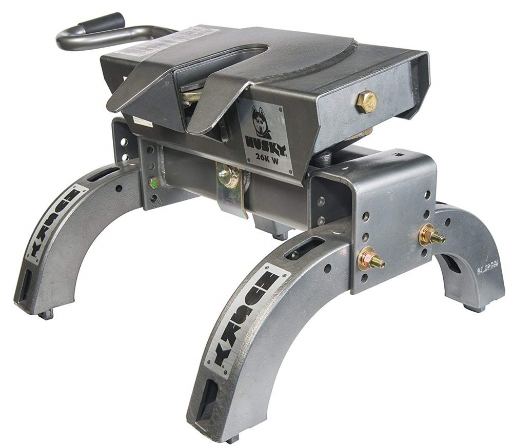 Husky Towing 31668 26kw Fifth Wheel Hitch With Wraparound Jaw 26000 Lbs