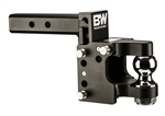 "B&W Hitches TS20055 Tow and Stow Pintle Hitch with 2"" Ball - 8-1/2"" Drop - 4-1/2"" Rise"