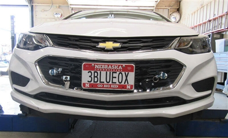 Blue Ox BX1732 Base Plate for 2017-2018 Chevy Cruze Turbo Diesel