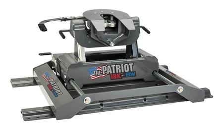 B&W RVK3270 Patriot 18K Slider - Fifth Wheel Trailer Hitch