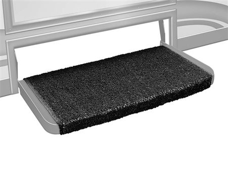 "Prest-o-Fit 2-1072 Wraparound Plus 20"" RV Step Cover - Black"