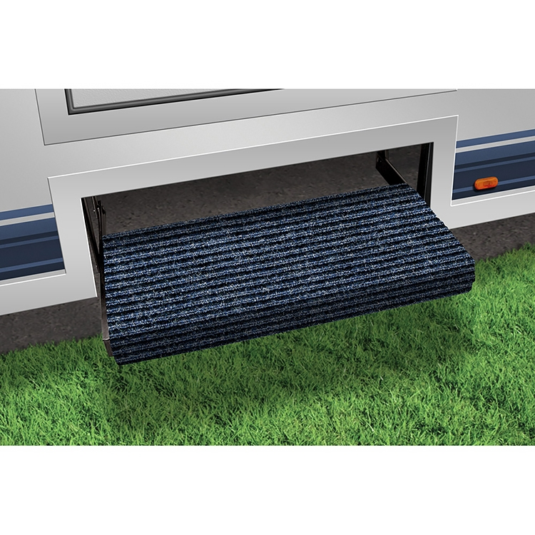 Prest-O-Fit 2-0354 Outrigger RV Step Rug Black Onyx 23 In Wide