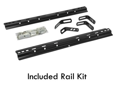 Reese Pro Series 30056 15K 5th Wheel Hitch With Rail Kit