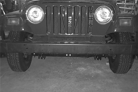 Demco 97-06 Jeep Wrangler (Sport, Sahara, Rubicon & Unlimited) Base Plate