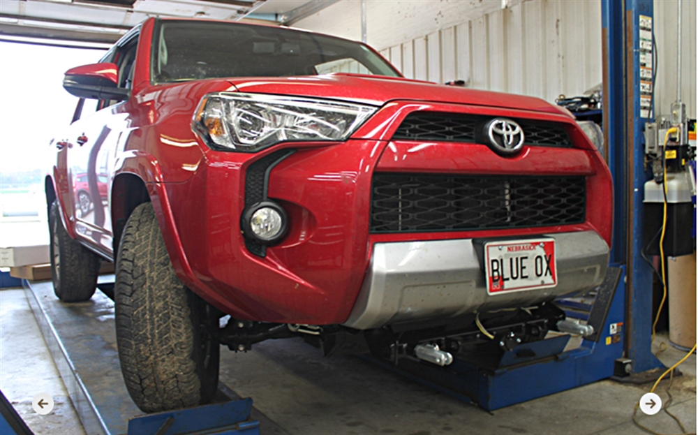 Blue Ox BX3763 Base Plate for Toyota Tacoma