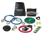 Roadmaster 9243-1 Tow Bar Accessory Kit for Falcon with Safety Cables & Power Cord - Straight Wire