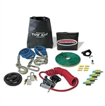 Roadmaster 9243-2 Tow Bar Accessory Kit For Falcon With Safety Cables & Power Cord - Coiled Wire