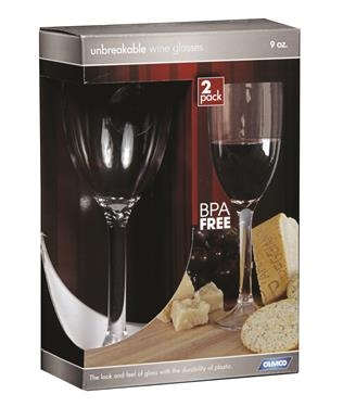 Camco 43861 Wine Glasses