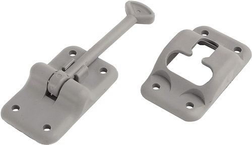 "RV Designer E234 Entry Door Holder, 3 1/2"" Gray"