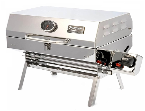 Camco 57305 Olympian 5500 Stainless Steel Grill