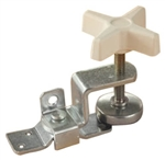 RV Designer E511 Fold-Out Bunk Clamp, Zinc-Plated, Standard