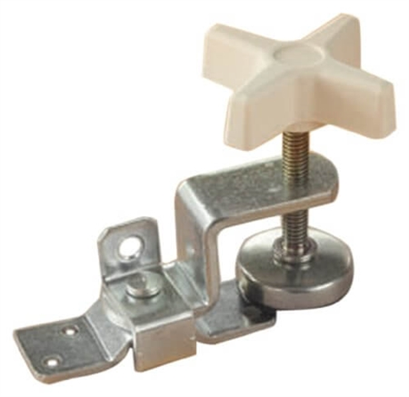 RV Designer E511 Zinc-Plated Fold-Out Bunk Clamp - Standard