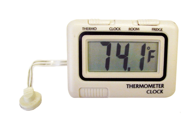 Prime Products 12 3020 Rv Refrigerator Thermometer Amp Clock