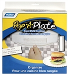 Camco 57001 Pop-A-Plate - White
