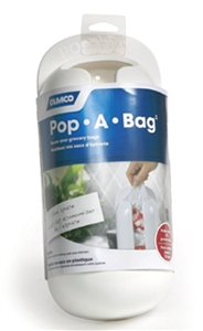 Camco 57061 White Pop-A-Bag Plastic Bag Dispenser