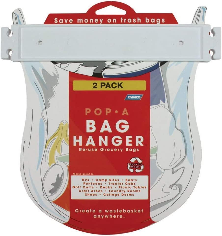 Camco 43593 Pop A Bag Hanger 2 Pack
