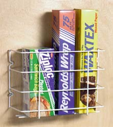 Homz 23300201.36 Wrap Rack &  Basket