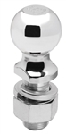 "Draw-Tite 63834 2-5/16"" Chrome Hitch Ball 1-1/4"" Shank Dia, 2-3/4"" Shank Length - 12000 Lbs"