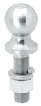 "Draw-Tite 63850 2"" Zinc Hitch Ball 1"" Shank Dia, 3-3/8"" Shank Length - 7500 Lbs"