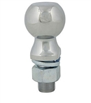 "Ultra Fab Products 35-946307 Zinc Hitch Ball 2"" x 1"" x 2-1/8""; 6,000 Lbs."