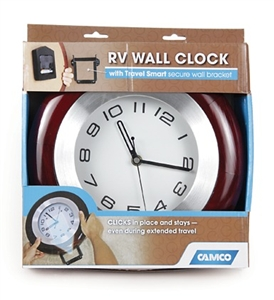 Camco 43781 Camco RV Wall Clock