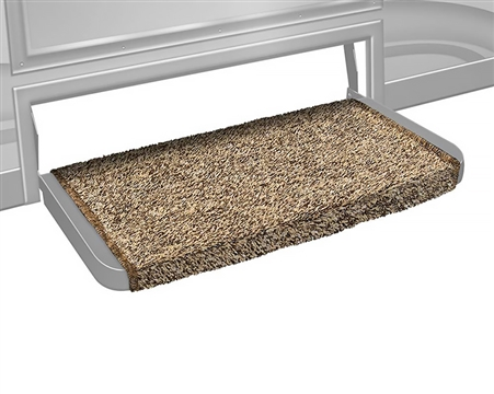 "Prest-o-Fit 2-0071 Wraparound 20"" RV Step Cover - Brown"