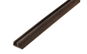 RV Designer A206 Snap Tape Curtain Tracks Brown - 96""