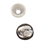RV Designer H607 RV Finish Caps With Collars - 14 Pack