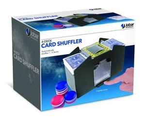 Jobar JC2797 Four Deck Card Shuffler