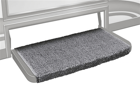 "Prest-o-Fit 2-1073 Wraparound Plus 20"" RV Step Cover - Grey"