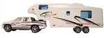 Prime Products 27-0020 Pick Up Truck And 5th Wheel RV Die-Cast Collectible