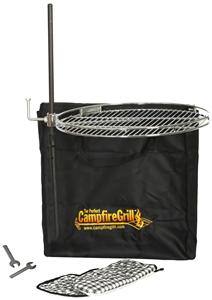 CampfireGrill 1030 The Pioneer Perfect Campfire Grill