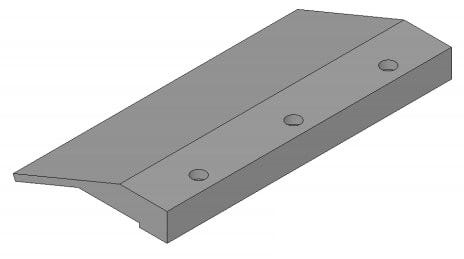 Lippert 146364 Raised Travel Block 9''
