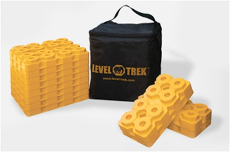 Level-Trek LT-80010 Leveling Block Pack- 12 Pieces