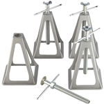 Camco 44560 Stabilizing Trailer Stack Jacks - 4 Pack