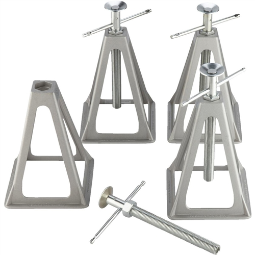 Camco Stabilizing Trailer Stack Jacks - 4Pk