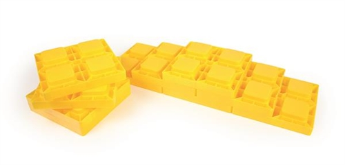 Camco 44505 RV Leveling Blocks - Set Of 10