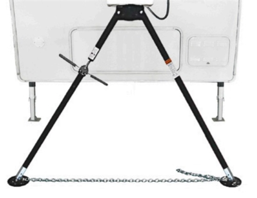 BAL 25030 Deluxe Bipod King Pin Stabilizing Jack With Extensions