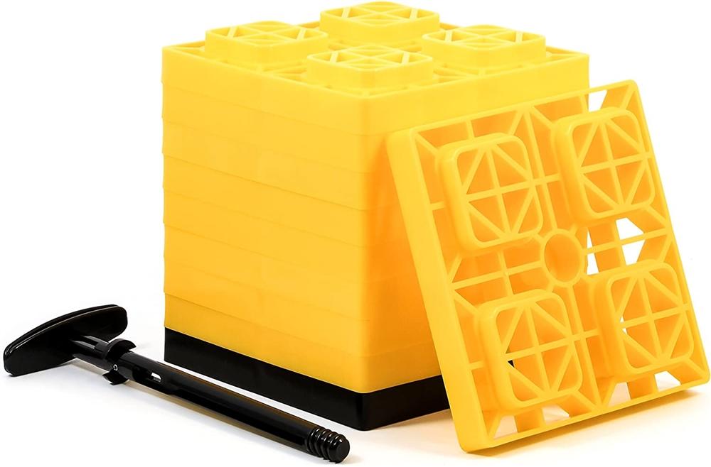 Camco 44512 Rv Fasten Leveling Blocks