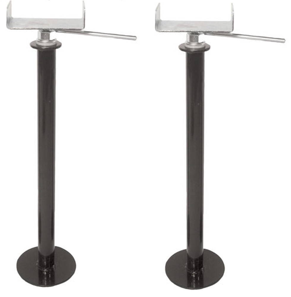 Husky Towing 81080 Adjustable RV Slide-Out Stabilizer Jacks - 20-3/4