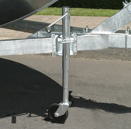 Husky 30781 1,000 lbs A-Frame Side Wind Trailer Jack