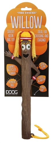 Doog STICK06 Stick Figure Fetching Toy - Willow