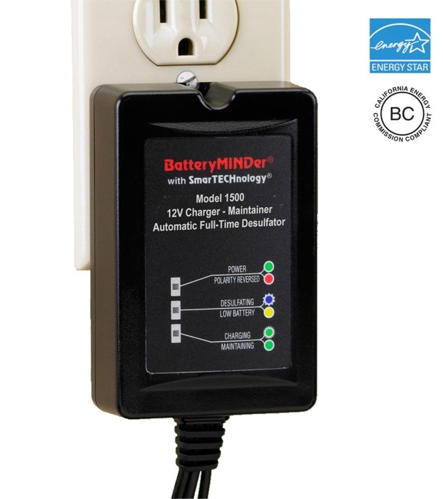 Batteryminder 1500 12 Volt 15 Amp Battery Charger Golf Cart Wiring Diagram Alternative Views